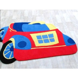 Toy Car Red 120x180
