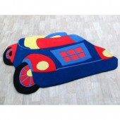 Toy Car Blue 120x180