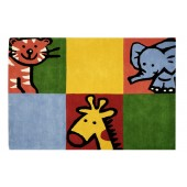 pret preturi covor multi RugVity Jungle Animal Block 120x180